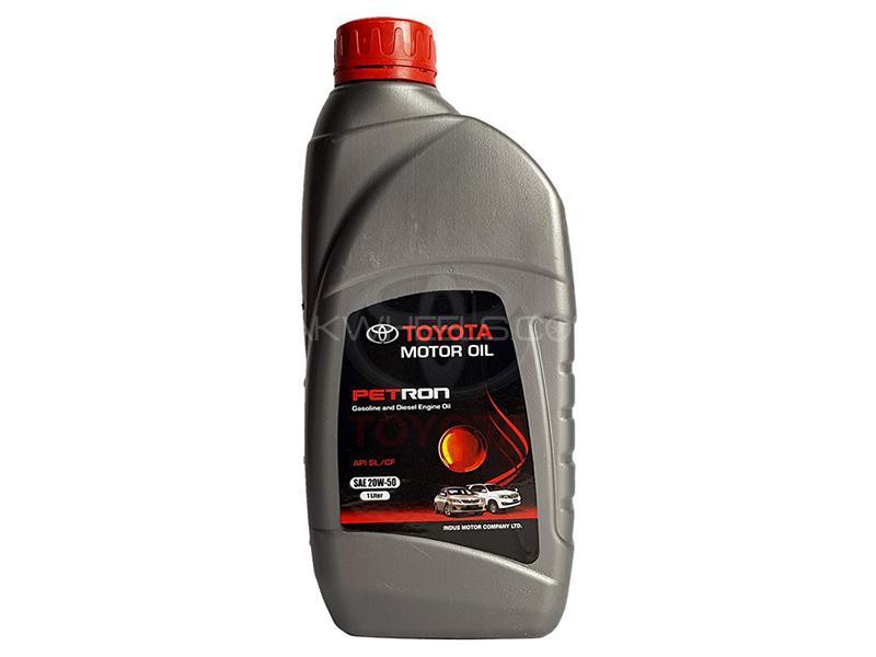 Toyota Petron Engine Oil 20W-50 - 1 Litre Image-1