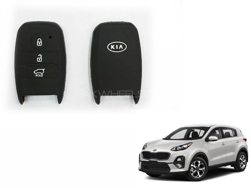 Kia Sportage Silicone Key Cover Image-1