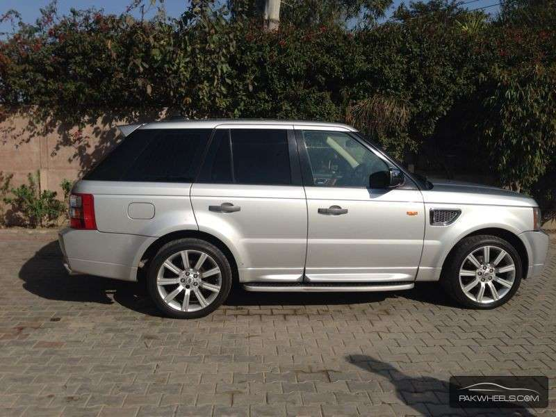 used range rover sport hse 2006 car for sale in lahore 857375 pakwheels. Black Bedroom Furniture Sets. Home Design Ideas