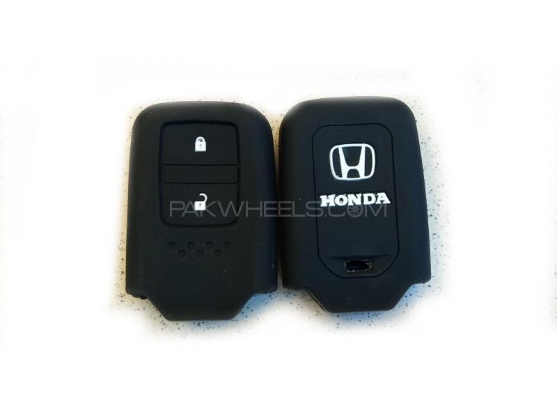 Honda Vezel Soft Silicone Key Cover Black in Lahore