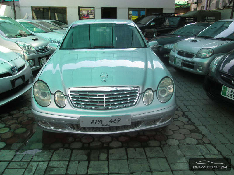 Mercedes benz e series 2003 for sale in lahore pakwheels for Mercedes benz e series for sale