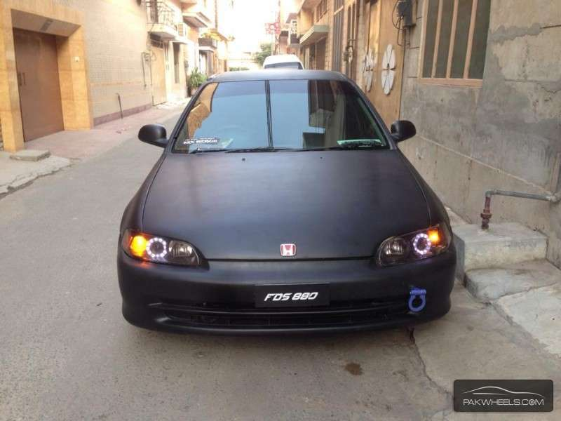 Honda Civic Type R 1995 For Sale In Faisalabad Pakwheels