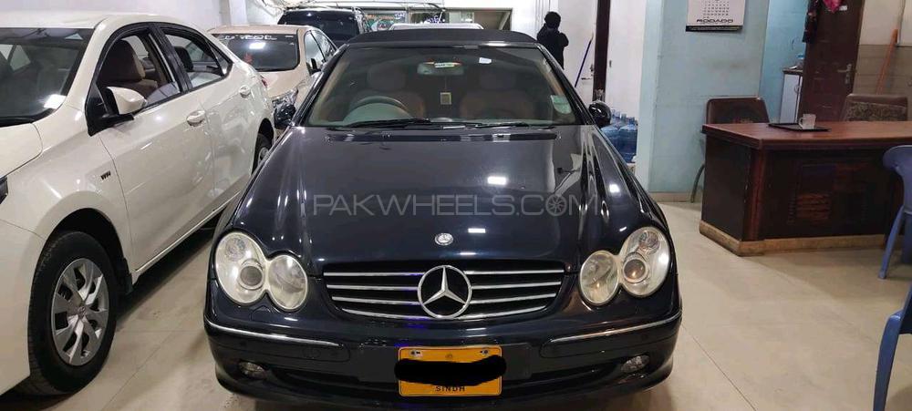 Mercedes Benz CLK Class CLK200 Kompressor 2004 Image-1