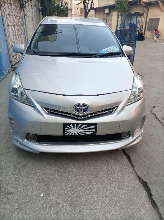 Toyota Corolla Fielder 2012 Image-1