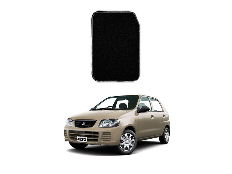 Suzuki Alto 2000-2012 Marflex Floor Mats Black in Lahore