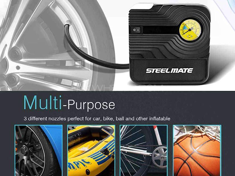 Steel Mate Portable Smart Handy Car Air Compressor - PO3 in Karachi