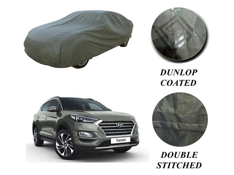 Hyundai Tucson 2020-2021 PVC Coated Double Stitched Top Cover in Karachi
