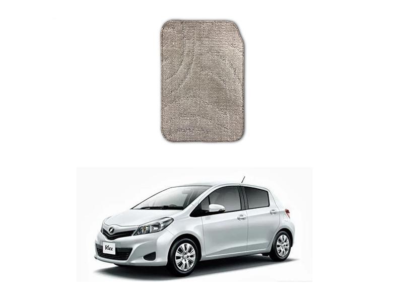 Toyota Vitz 2014-2020 Marflex Floor Mats Premium Beige in Lahore