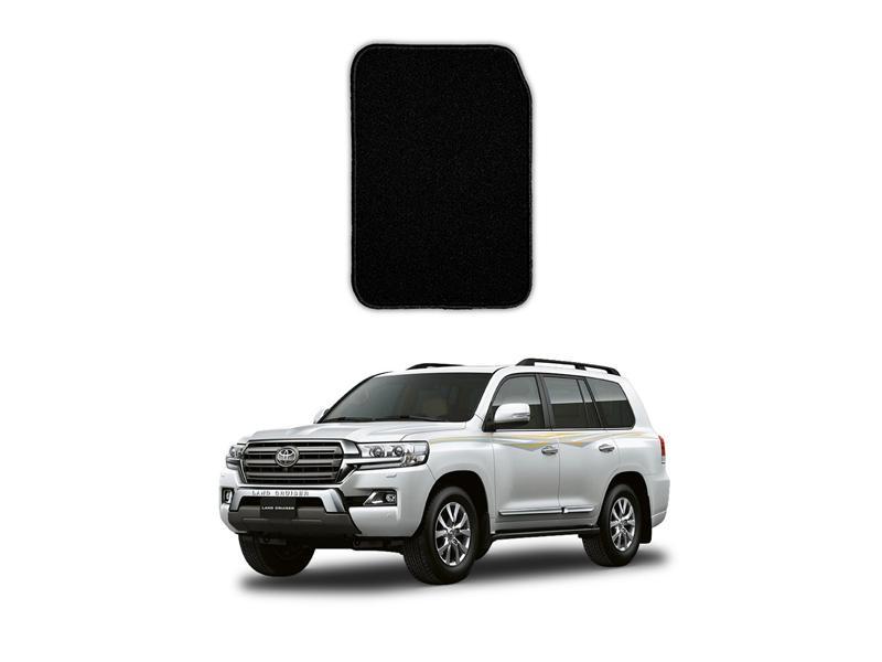 Toyota Land Cruiser Marflex Floor Mats Premium Black in Lahore
