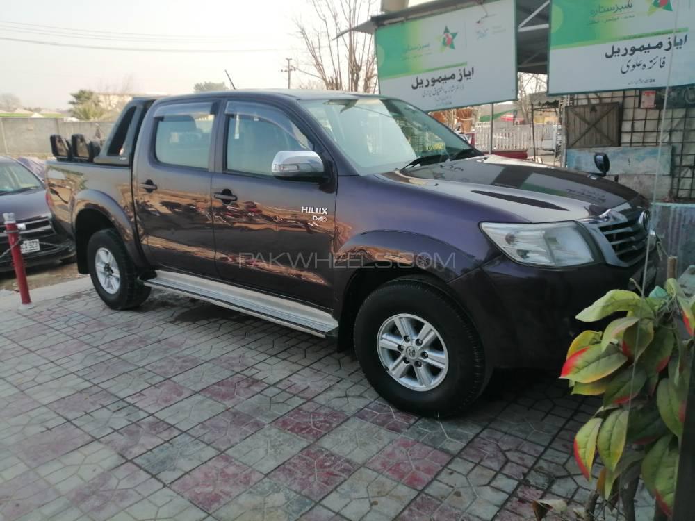 Toyota Hilux Vigo Champ V 2014 Image-1
