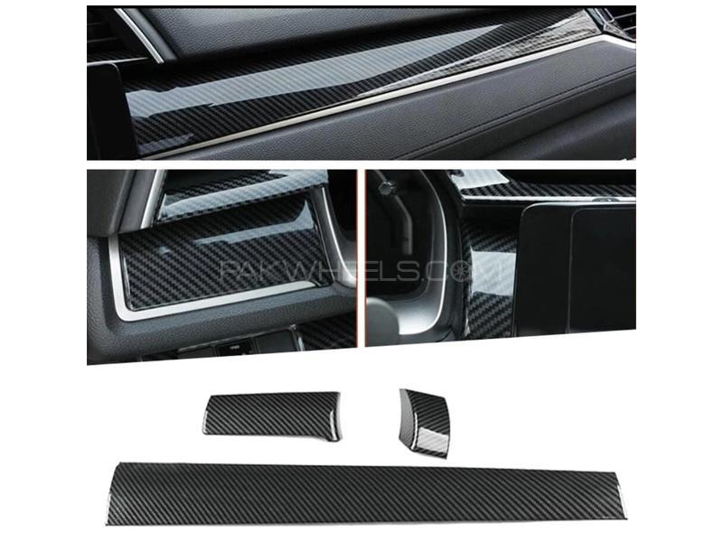 Honda Civic 2016-2021 Carbon Dash Trim Kit  in Lahore