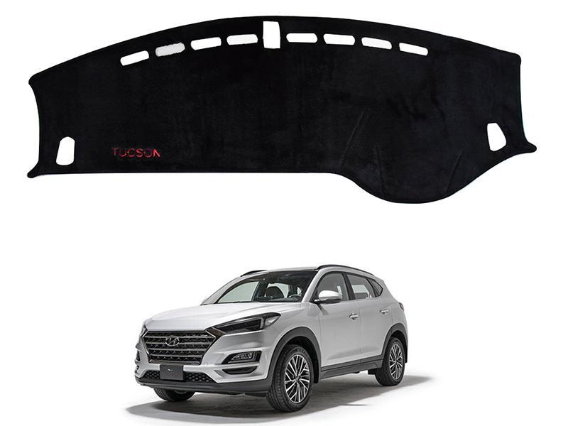 Hyundai Tucson 2020-2021 Velvet Dashboard Mat in Karachi