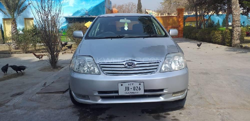 Toyota Corolla Fielder X G Edition 2003 Image-1