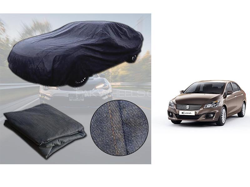 Suzuki Ciaz 2017-2021 Denim Double Stitched Top Cover  in Karachi