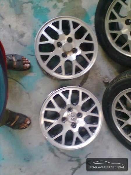 14' inch Honda Civic Alloy Rims for sale in Karachi - Parts & Accessories | PakWheels
