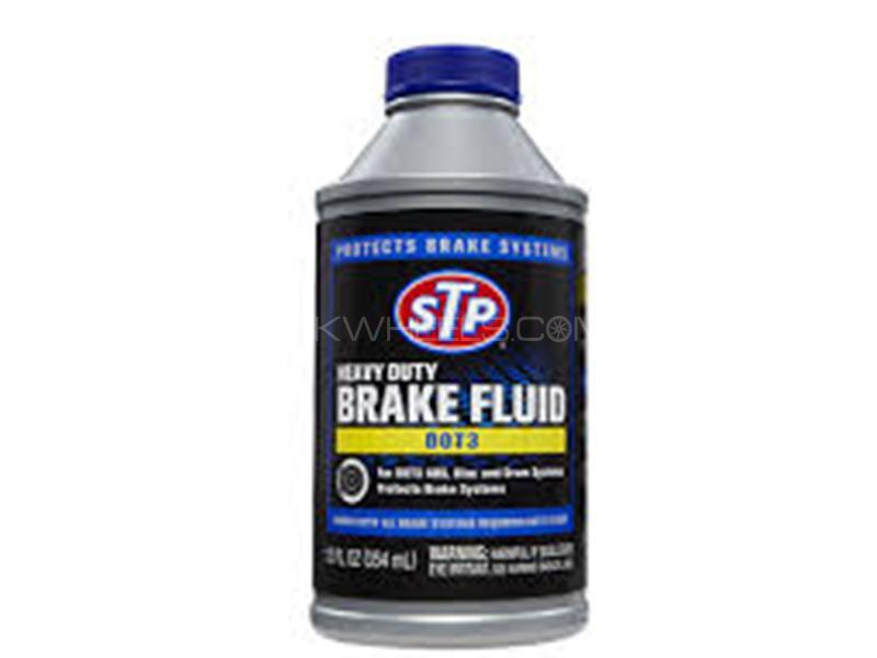 STP Brake Fluid DOT 3 - 354ml in Karachi