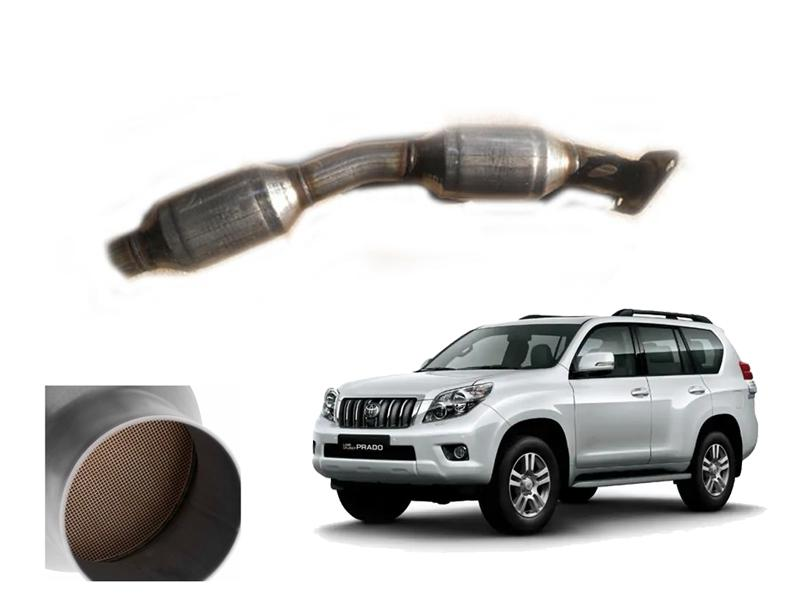 Catalytic Converter Complete Pipe For Toyota Prado 2008-2014 in Faisalabad