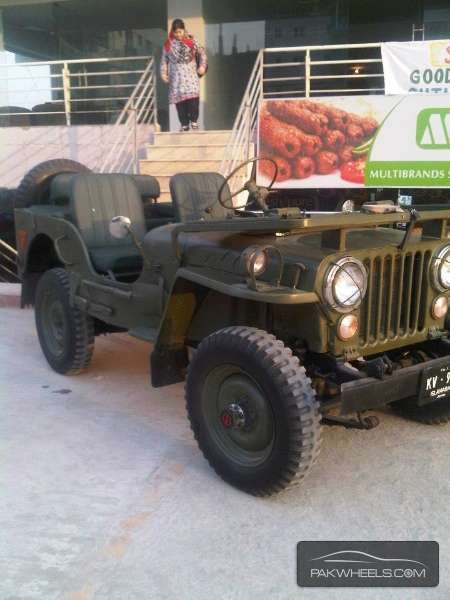 willys m38 1960 for sale in karachi