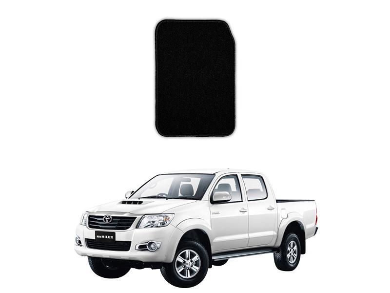 Toyota Vigo Marflex Floor Mats Premium Black in Lahore