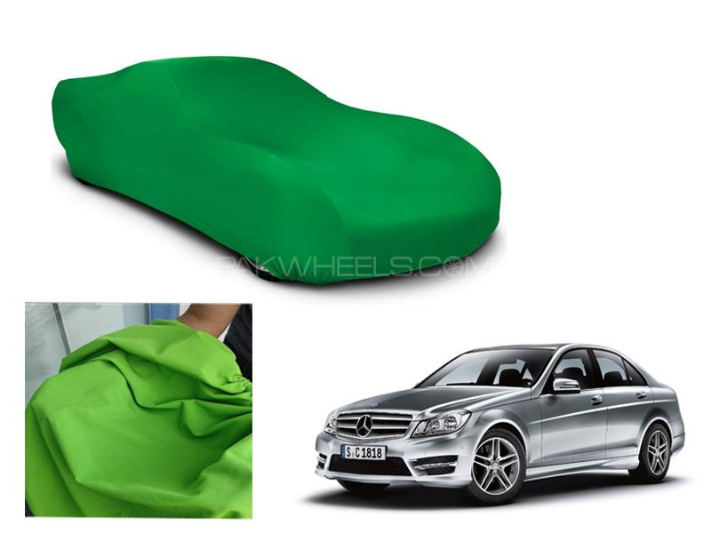 Mercedes C Class Microfiber Coated Anti Scratch And Anti Swirls Water Resistant Top Cover in Lahore