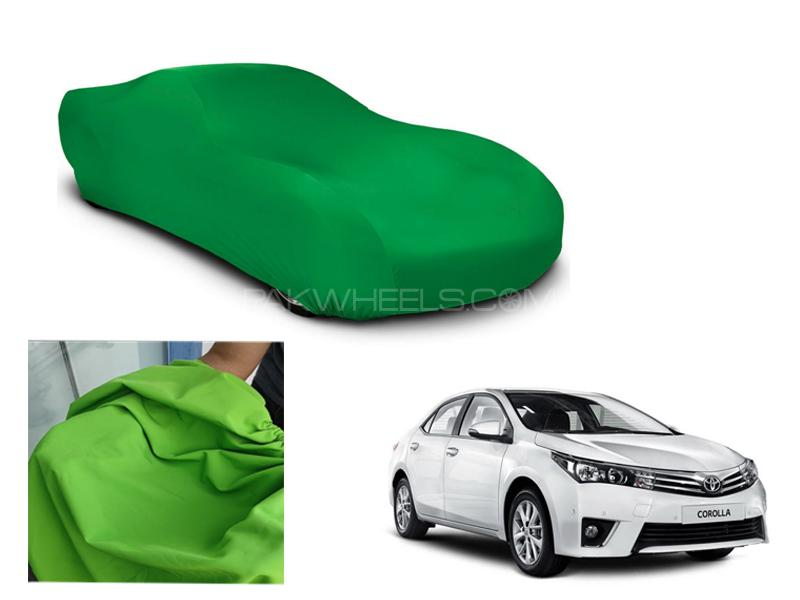 Toyota Corolla 2014-2016 Microfiber Coated Anti Scratch And Anti Swirls Water Resistant Top Cover in Lahore