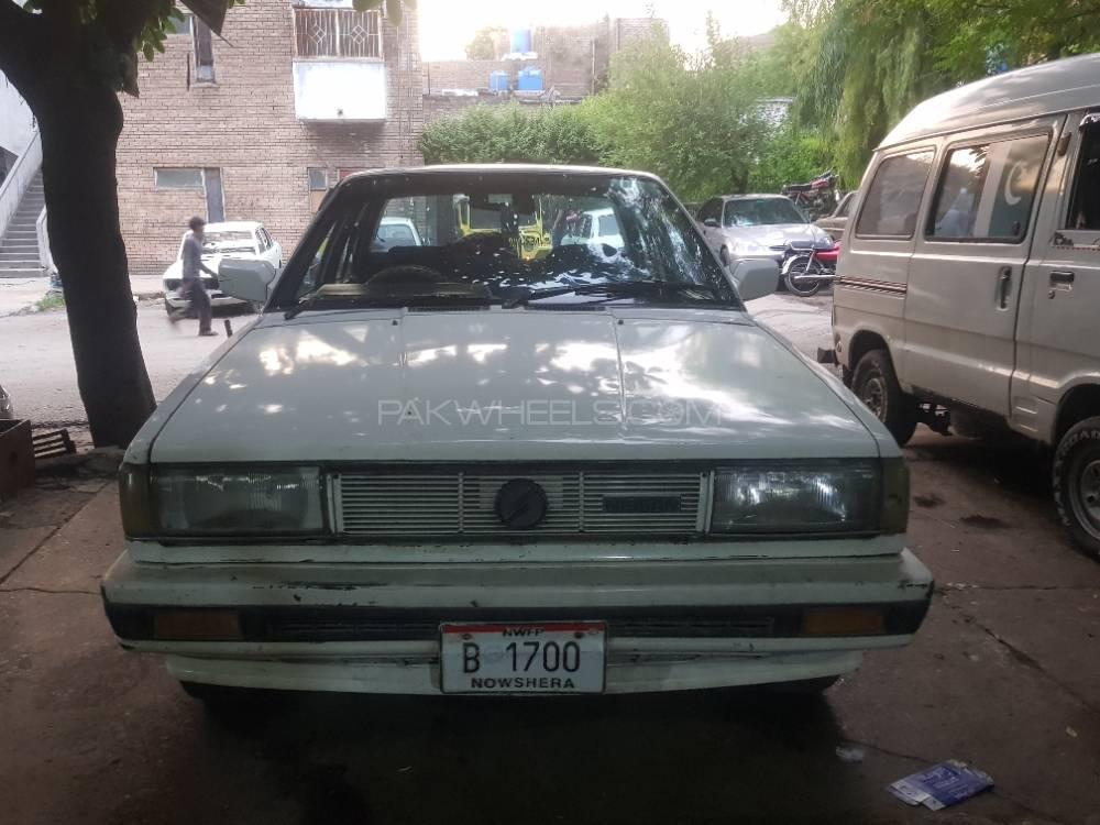 Nissan Sunny EX Saloon 1.3 1986 Image-1