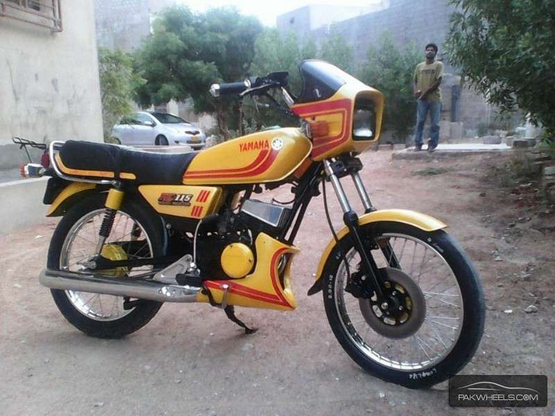 Used yamaha rx 115 1982 bike for sale in karachi 122815 for Yamaha rx115 motorcycle for sale