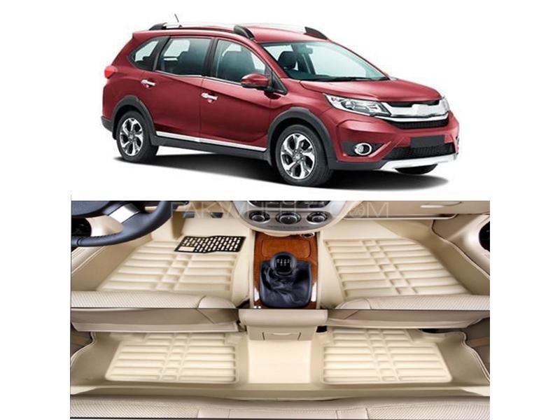 Honda BRV 2017-2021 5D Floor Mat - Beige in Karachi
