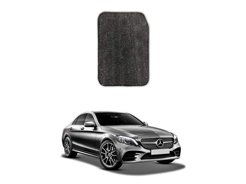 Mercedes C Class 2015-2021 Marflex Floor Mats Premium Grey Image-1