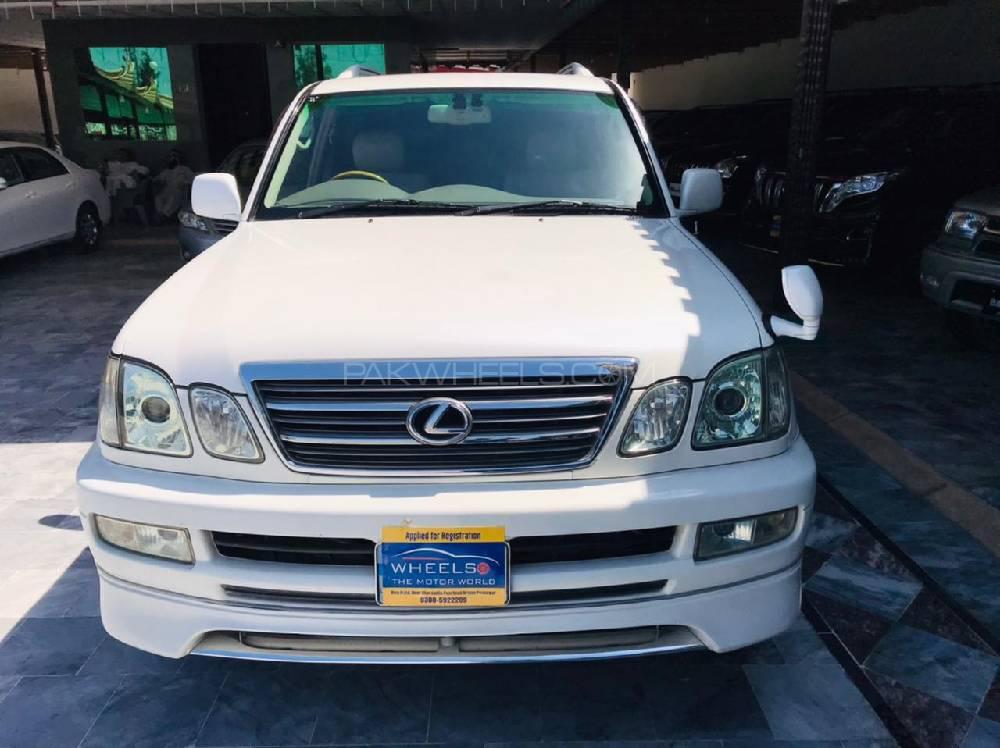 Toyota Land Cruiser Cygnus 2002 Image-1