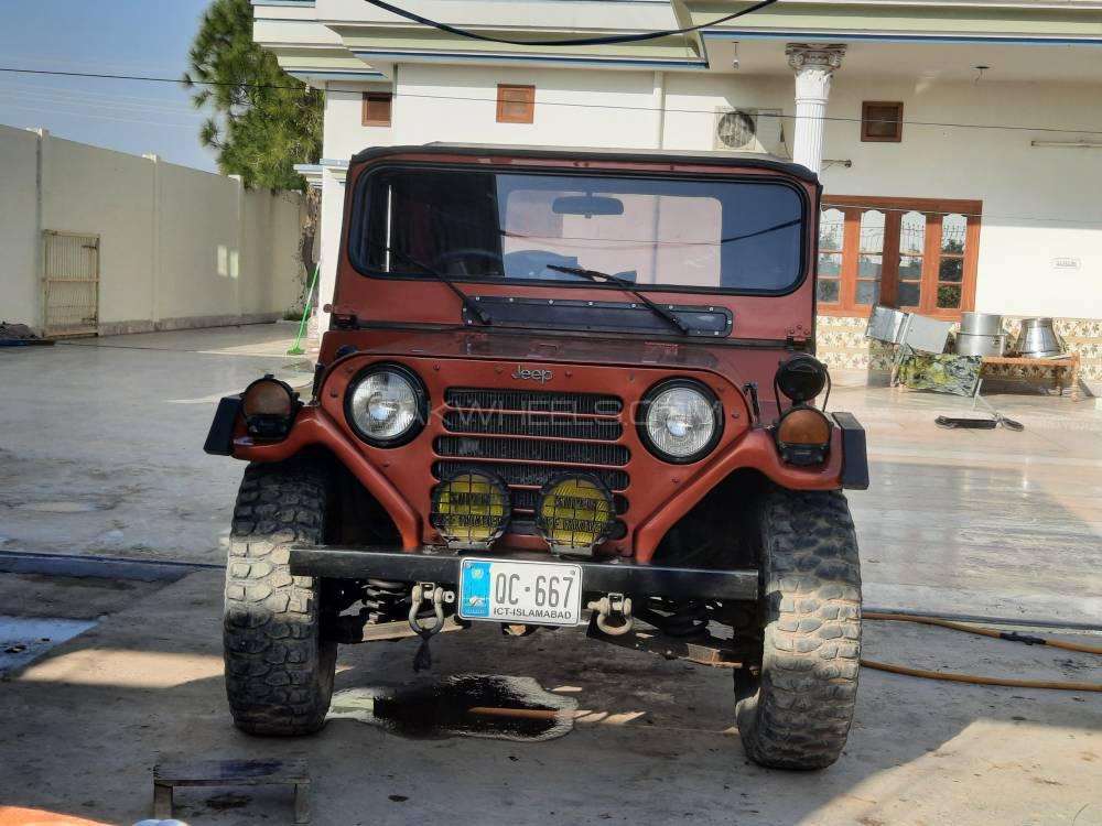 Jeep M 151 1987 Image-1