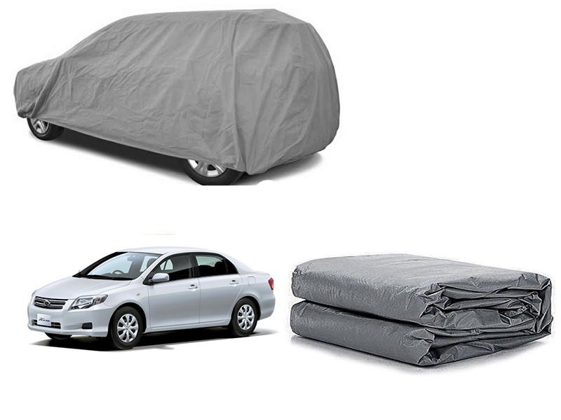 Toyota Axio 2007-2010 PVC Cotton Fabric Top Cover - Grey  in Karachi