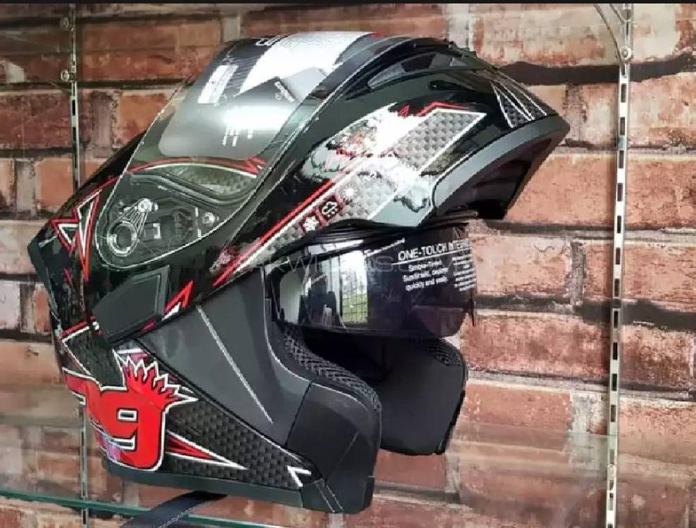 Buy JIEKAI FLIP-UP DOT Certified Helmet in Rawalpindi | PakWheels