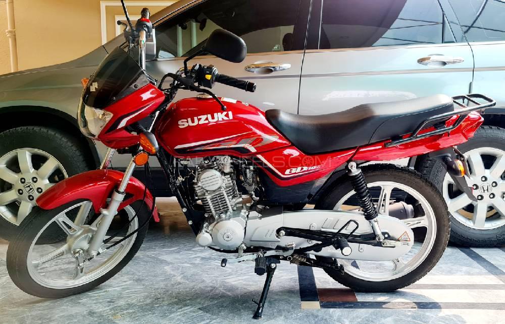 Suzuki GD 110S 2021 Image-1