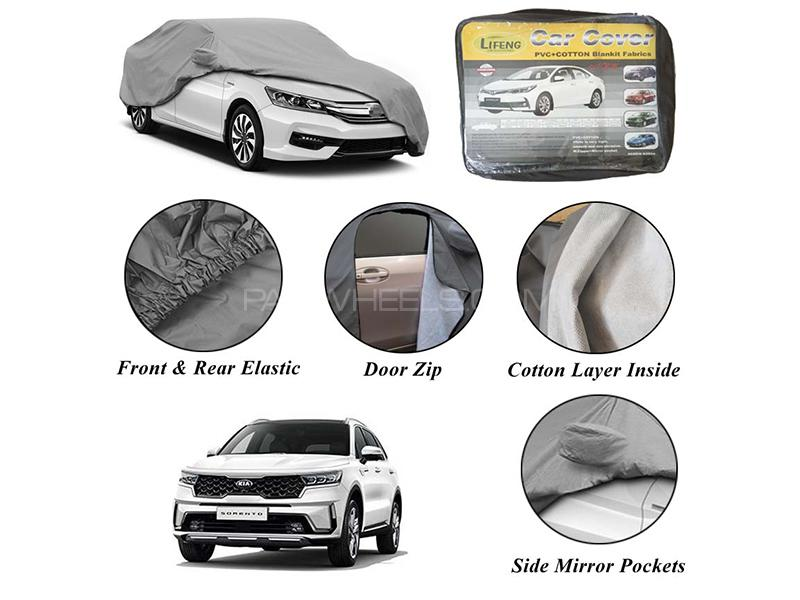 Kia Sorento 2021 Non Woven Inner Cotton Layer Car Top Cover  in Karachi