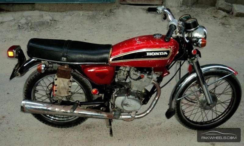 Byers Used Cars >> Used Honda CG 125 1980 Bike for sale in Karachi - 124652 | PakWheels