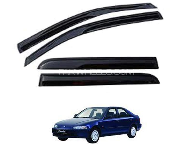 Honda Civic 1992-1996 Sun Visor - Black  Image-1