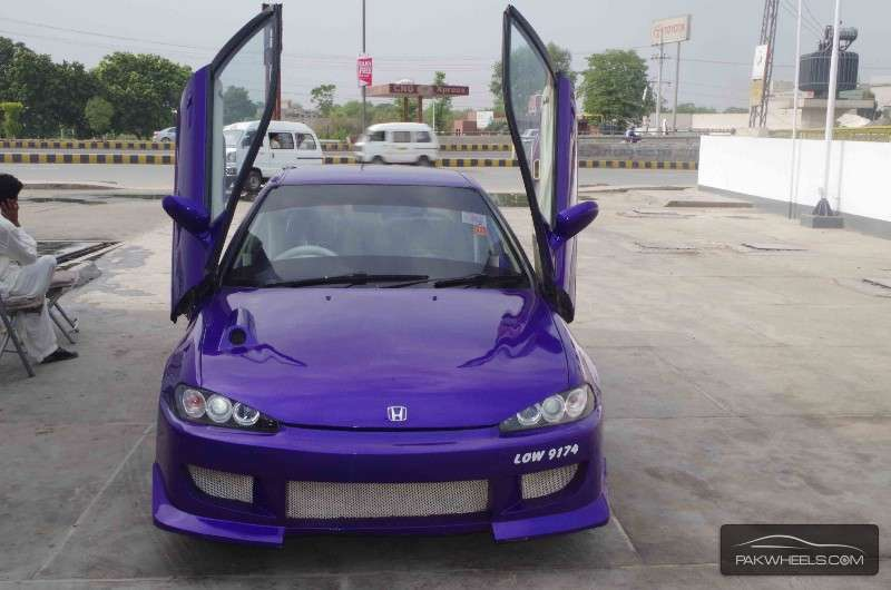 honda civic ex 1995 for sale in lahore pakwheels. Black Bedroom Furniture Sets. Home Design Ideas