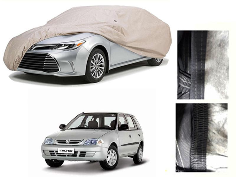 Suzuki Cultus 2007-2017 PVC Cotton Car Top Cover  in Karachi