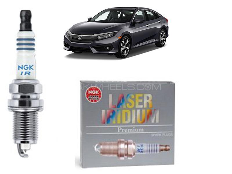 Honda Civic 1500cc 2016-2021 NGK Laser Iridium Spark Plug 4 Pcs  in Karachi