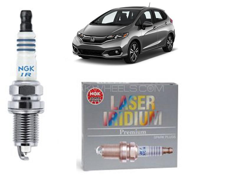 Honda Fit 2018-2021 NGK Laser Iridium Spark Plug 4 Pcs - DILZKAR7C11S in Karachi