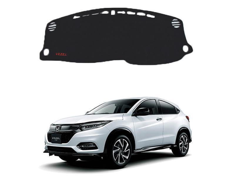 Honda Vezel 2013-2021 Non-Slip Velvet Dashboard Mat  in Karachi