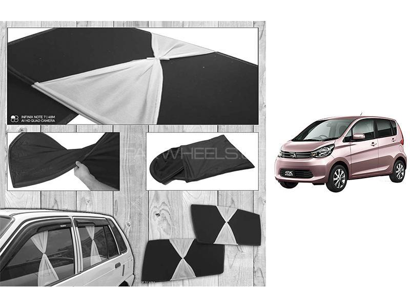 Mitsubishi EK Wagon 2013-2021 Fancy Design Foldable Sun Shades  in Karachi