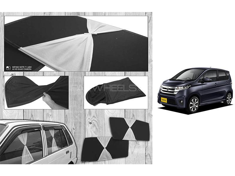 Nissan Dayz 2013-2021 Fancy Design Foldable Sun Shades  in Karachi
