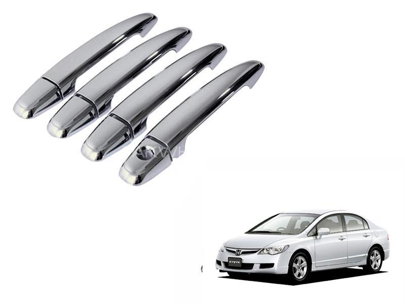 Honda Civic 2006-2012 Door Handle Chrome Covers Set in Lahore