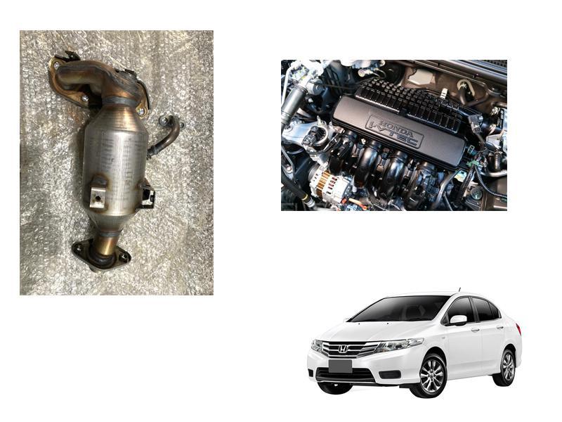 Honda City 2009-2020 Catalytic Converter Set in Faisalabad