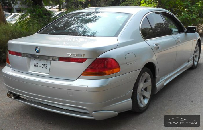 Bmw 7 Series 735i 2003 For Sale In Islamabad Pakwheels