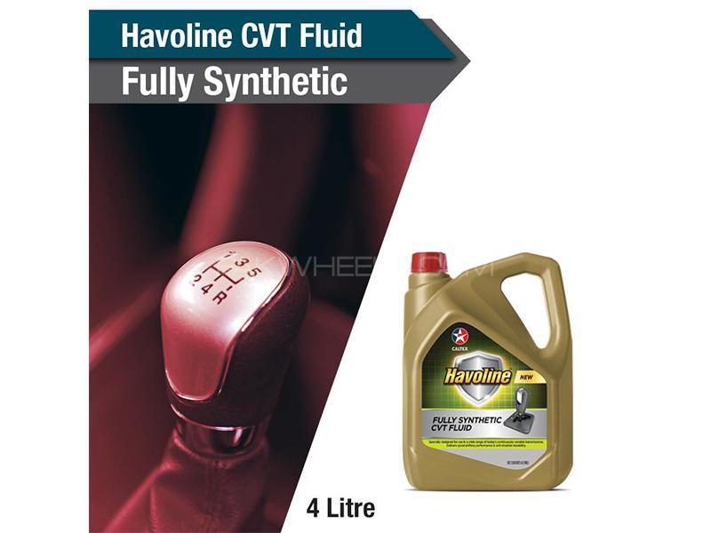 HAVOLINE FULLY SYNTHETIC - CVT FLUID (4L) Image-1
