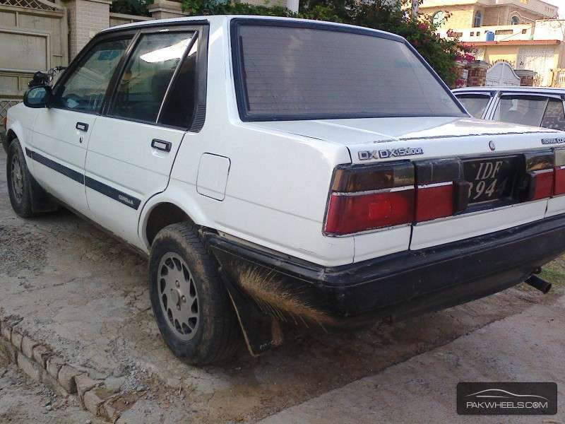 toyota corolla 1984 for sale in wah cantt pakwheels. Black Bedroom Furniture Sets. Home Design Ideas