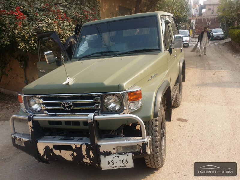 Toyota Land Cruiser 1990 For Sale In Islamabad 1025412 on toyota fj radio